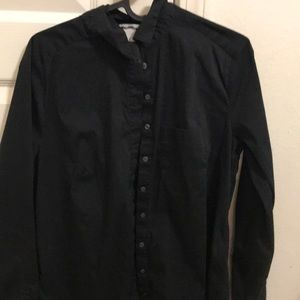 Black Button Up H&M long sleeve